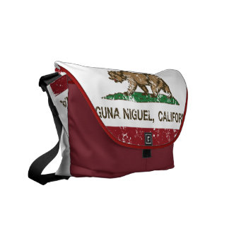 California State Flag Laguna Niguel Messenger Bag