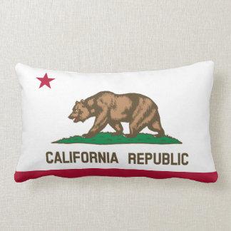 California State Flag Lumbar Pillow