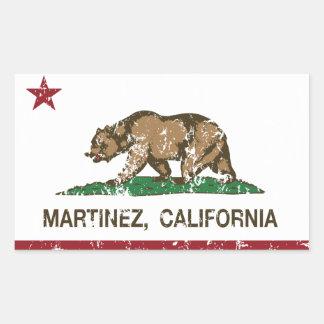 California State Flag Martinez