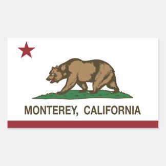 California State Flag Monterey Sticker