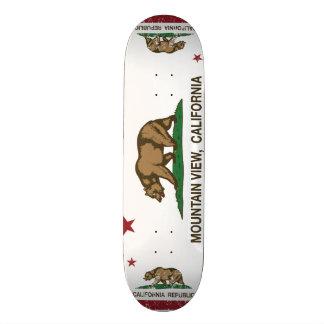 California State Flag Mountain View Skate Board Decks