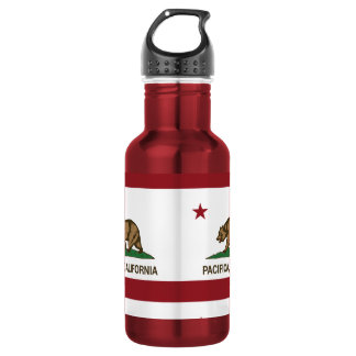 California State Flag Pacifica 532 Ml Water Bottle