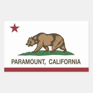 California State Flag Paramount Sticker
