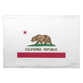 California State Flag Place Mats