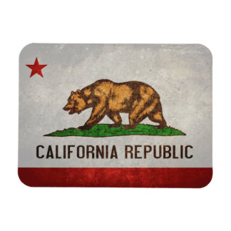 California State Flag Rectangular Photo Magnet