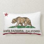 California State Flag Santa Barbara Lumbar Pillow