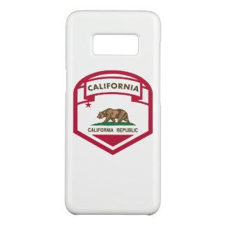 California State flag shield Case-Mate Samsung Galaxy S8 Case