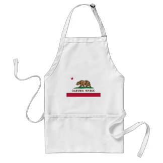 California State Flag Standard Apron