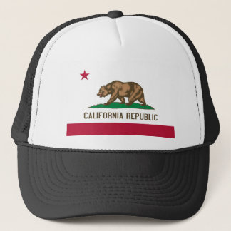California State Flag Trucker Hat