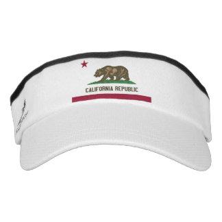 California State Flag Visor