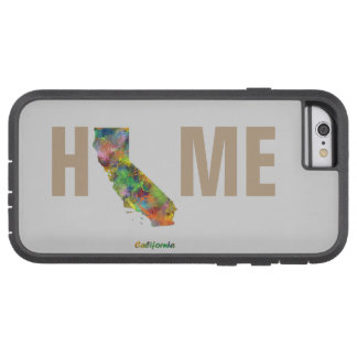 CALIFORNIA STATE MAP - TOUGH XTREME iPhone 6 CASE