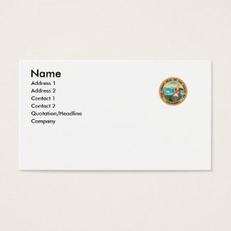 California State Seal Business Card