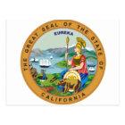 California State Seal Postcard