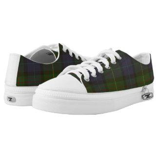 California State Tartan Low Top Zipz Sneakers
