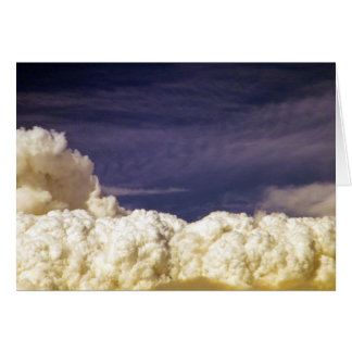 California Station Fire Clouds_ Card