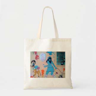 California Street Art Tote