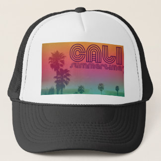 california summertime trucker hat