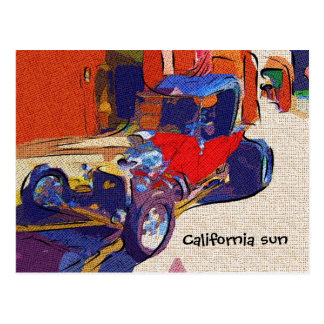 California sun postcard