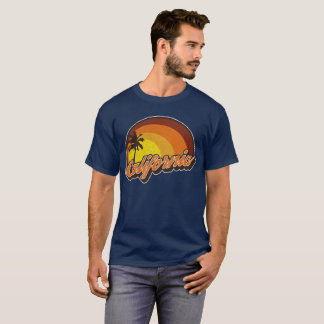 California sun retro distressed look T-Shirt