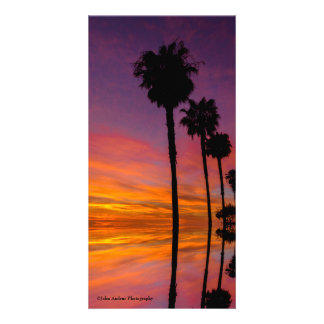 California Sunset Card