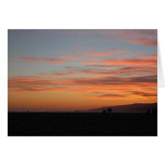 California Sunset Card