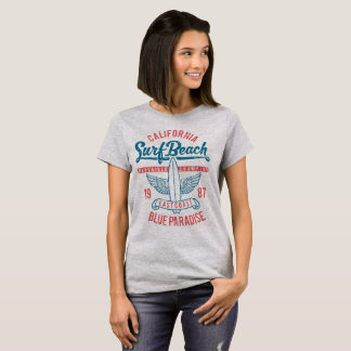 California Surf Beach Paradise T-Shirt