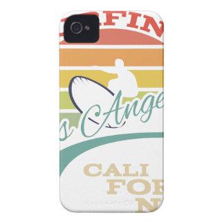 California surf illustration, t-shirt graphics Case-Mate iPhone 4 case