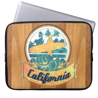 California surfboard laptop sleeve