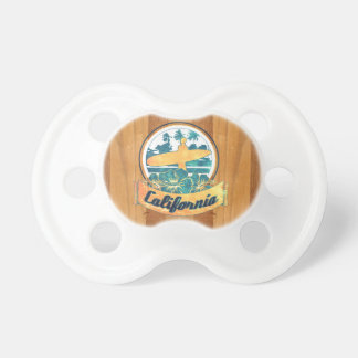California surfboard pacifier