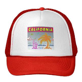 """""""CALIFORNIA"""" Surfer Beach Hat"""