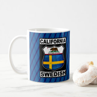 California Swedish American Mug