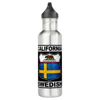 California Swedish American Water Bottle