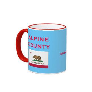 CALIFORNIA*- tasse de café du comté d'Alpine