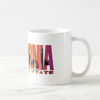 California the golden state coffee mug