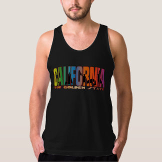 California the golden state tank top