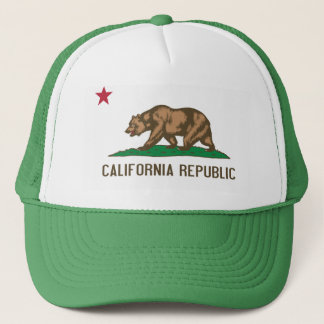 California - The Golden State Trucker Hat