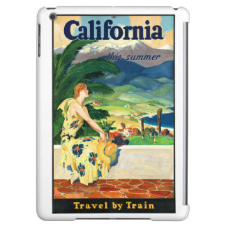 California this summer Restored Vintage Poster Cover For iPad Air