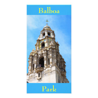 California Tower Balboa Park San Diego California Card