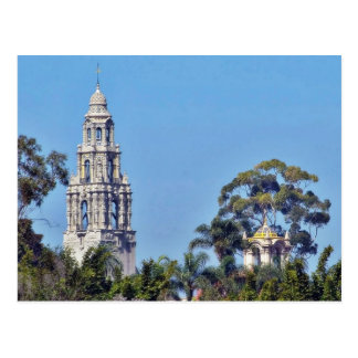 California Tower In Balboa Park San Diego Postcard