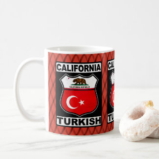 California Turkish American Mug