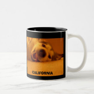 CALIFORNIA Two-Tone COFFEE MUG