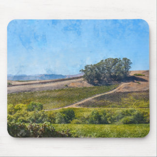 California Vineyard Mouse Pad