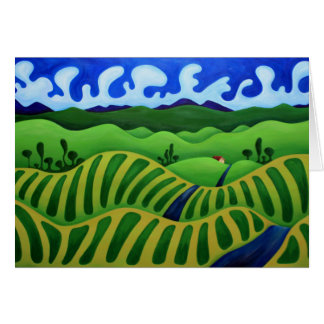 California-Vineyards Card
