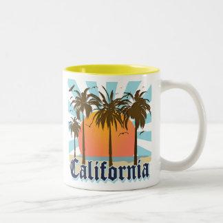 California Vintage Souvenir Two-Tone Coffee Mug