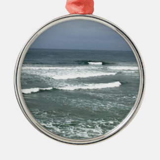 CALIFORNIA WAVES METAL ORNAMENT