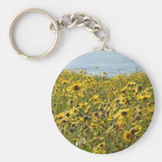 California Wildflowers Keychain