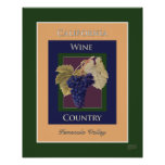 California Wine Country, Temecula Valley Poster