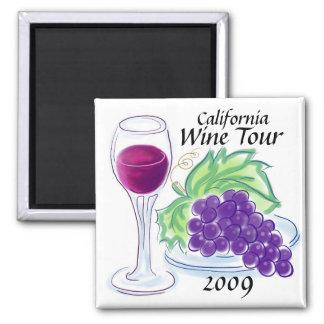 California Wine Tour 2013! Magnet