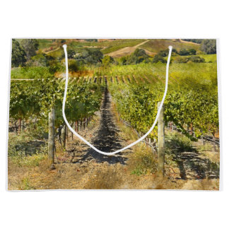 California Wine Vineyard Large Gift Bag