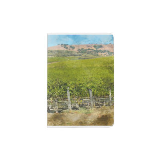California Wine Vineyard Passport Holder